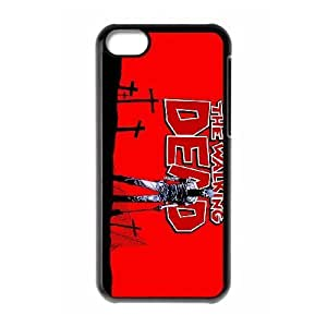 LJF phone case iphone 4/4s Phone Case The Walking Dead F5J7673