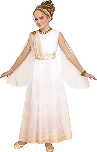 Fun World Golden Goddess Child Costume, Small, Multicolor