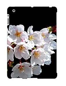 Durable Case For The Ipad 2/3/4 - Eco-friendly Retail Packaging(white Blossoms )