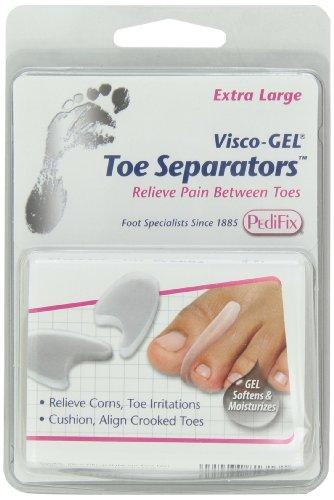 Pedifix Visco-gel Toe Separators, 1 Count