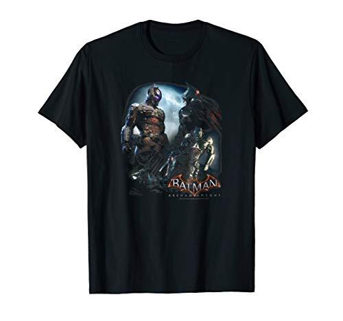 Batman: Arkham Knight Face Off T Shirt (Batman Arkham Knight Action Figures Release Date)