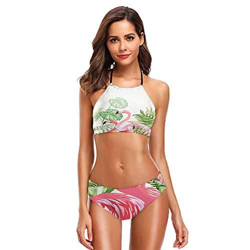 Swimsuit Sexy Flamingo (28) M Padded Bra