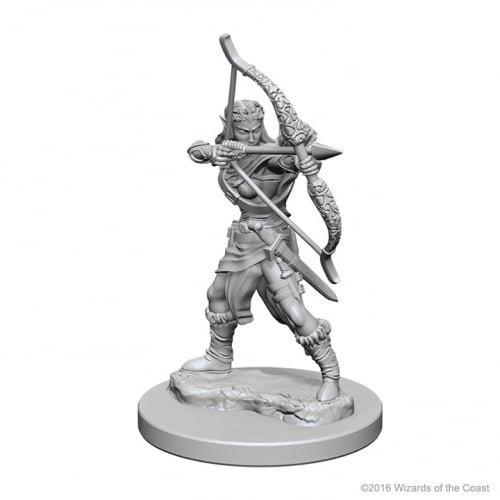 Dungeons & Dragons: Nolzur's Marvelous Unpainted Minis: Elf Female Ranger