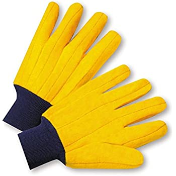 West Chester FM18KWK Full Chore Glove, Large, Yellow (Pack of 12)