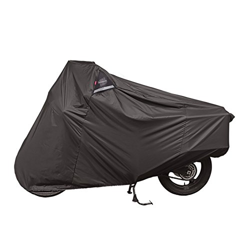 Dowco Guardian 51614-00 WeatherAll Plus Indoor/Outdoor Waterproof Motorcycle Cover: Black, Adventure Touring