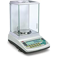 Torbal AGN200 Analytical Scale, 200g x 0.0001g (.1mg Readability), Auto-Internal Calibration, USB, Large Graphical LCD Display, 12 Weighing Modes