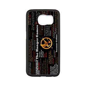 Fayruz- Personalized Protective Hard Textured Rubber Coated Case Cover for Samsung Galaxy S6 - The Hunger Games -S6O1374
