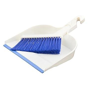 Teclado eDealMax plástico Hoime dormitorio escritorio Limpieza Limpiar Cepillo Escoba Escoba recogedor Conjunto