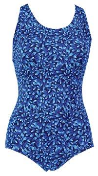 ative Solid Lap Suit Print Female Flora Purple 12 ()