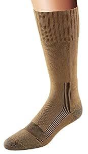 Fox River Military Wick Dry Maximum Mid Calf Boot Sock (Small, COYOTE BROWN)