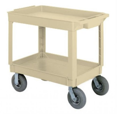 Continental 5805BE-PN, Beige Large Pneumatic Utility Cart (Case of 1)