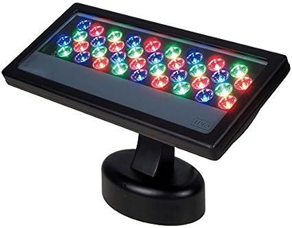 finest selection d0497 034c4 Amazon.com: LED Wall Washer - RGB 36W High power 1W tri ...