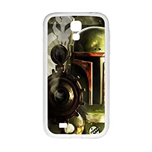 Droid War Design Plastic Case Cover For Samsung Galaxy S4