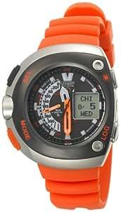Citizen Men's JV0030-19F Eco-Drive 20th Anniversary Aqualand Orange Imperial Dive Watch