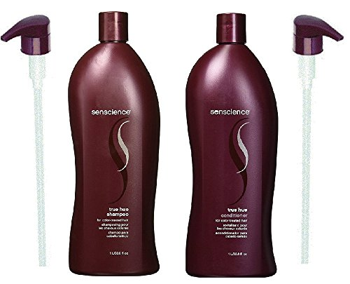 Senscience True Hue Shampoo & Conditioner Duo (33.8oz Each) - With Pumps
