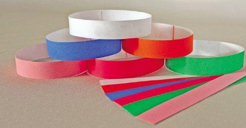 KVP ID Bands, Mixed Colors, 20″, 500ct, My Pet Supplies