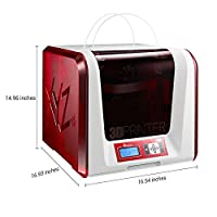 "XYZprinting da Vinci Jr. 2.0 Mix Wireless 3D Printer - 5.9""x5.9""x5.9"" (PLA, Duo Color, WiFi, and Standalone Printer) from SYNNEX INFORMATION TECHNOLOGIES DROPSHIP"