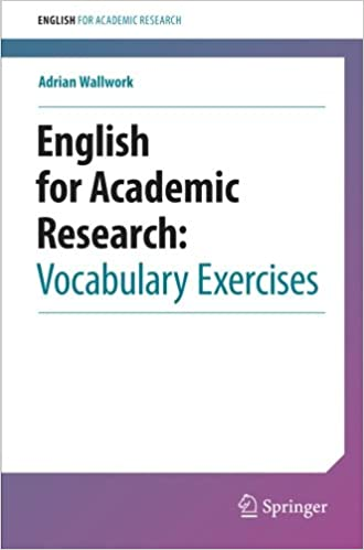English for Academic Research: Vocabulary Exercises: 9781461442677 ...