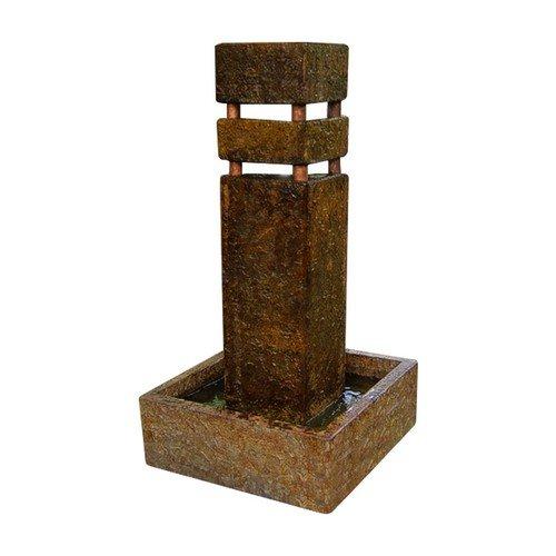 Henri Studio 4 Piece Monolith Fountain, Relic Terra