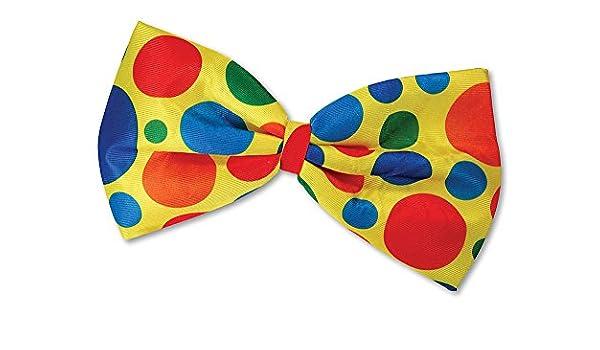 """New Clown Size Solid Black Cotton Bow Tie XXXL Bow Tie 8/"""" X 5/"""" Big Costume"""