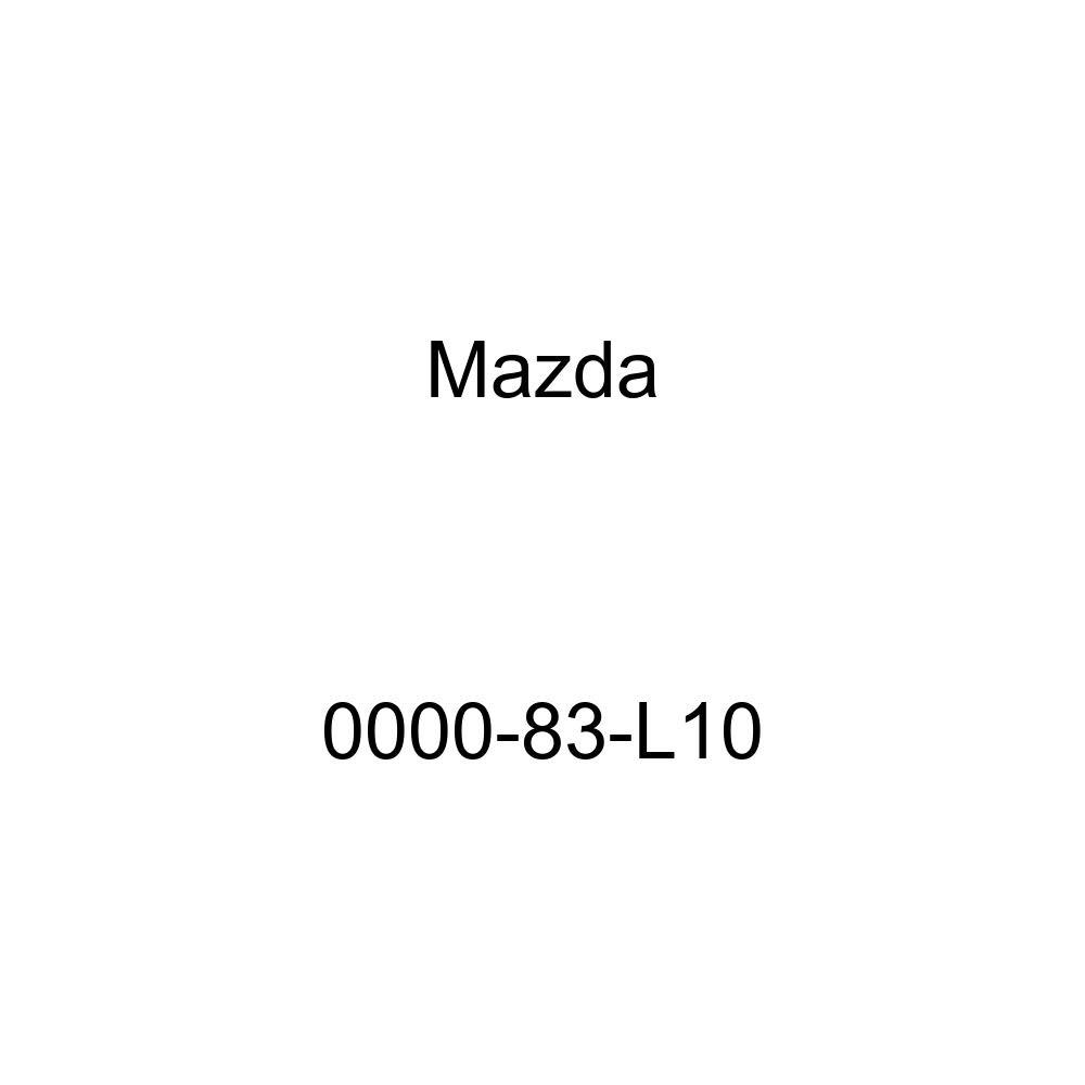 Mazda Genuine Accessories 0000-83-L10 License Plate Frame