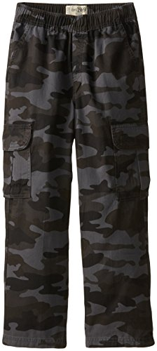 The Children's Place Big Boys' Pull-On Cargo Pant, Night Camo, 12 ()