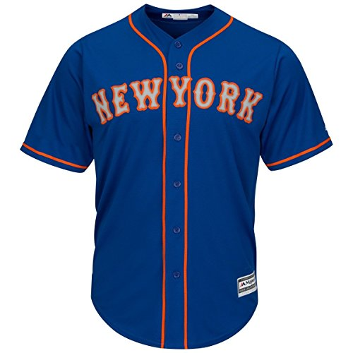 Majestic New York Mets Official 2016 Cool Base Mlb Replica Jersey Mens Style: 7700-R.BLU Size: M
