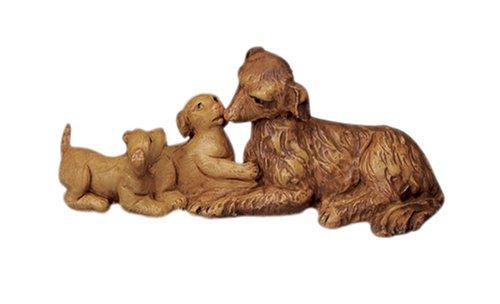 Fontanini Dog Family