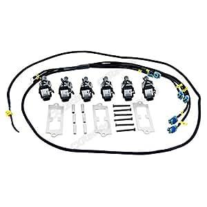 amazon com  cxracing lq9 ignition coil packs bracket wire