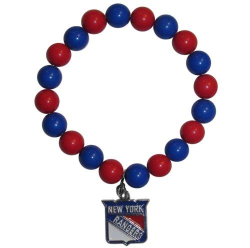 Siskiyou NHL New York Rangers Fan Bead Bracelet ()