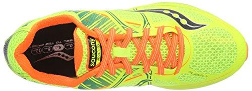 Orange Citron Fastwitch Uomo Scarpe Vizipro Corsa da Saucony Giallo 68qfR