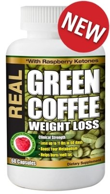 Bel Marra Nutritionals Real Green Coffee Bean (12 Month Supply)