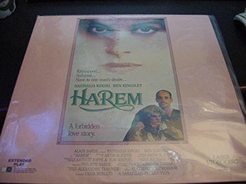 Laserdisc Laser Disc HAREM A Forbidden Love Story With Nastassja Kinski And Ben Kingsley. ()