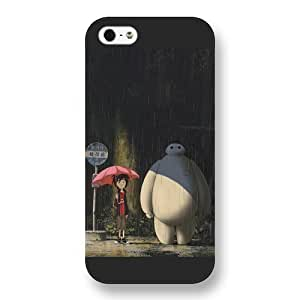 Customized Black Frosted Disney Cartoon Movie Big Hero 6 Baymax Case For Sam Sung Note 4 Cover