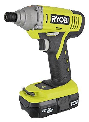Ryobi P1870 18-Volt ONE+ Lithium-ion Impact Driver Kit by Ry