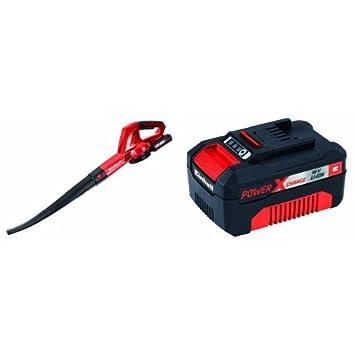Einhell GE-CL 18 Li KIT - Soplador (batería litio 18 V Li ...