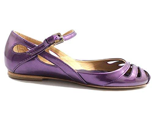 TOD'S sandali donna viola vernice