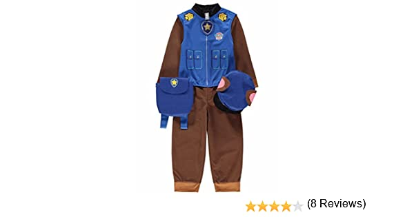 7-8 Years) - Paw Patrol Chase Dress Up Costume: Amazon.es: Ropa y ...