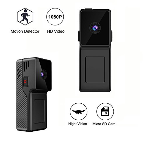 Kaisio 1080p Hidden Spy Camera HD Mini Camera With Night Vis