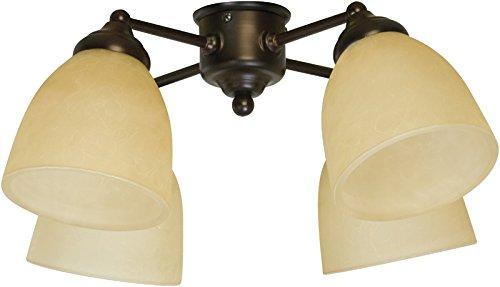 Craftmade LK400CFL-OB 4 Light Universal Fan Light Kit