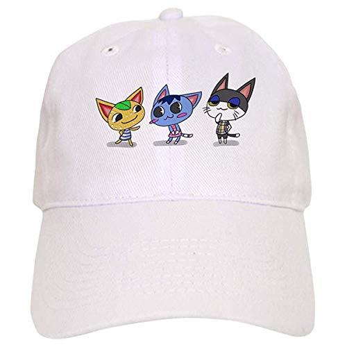 LUDEM Animal Crossing Kitties Baseball Cap ()