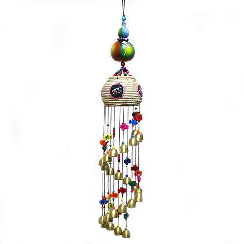 18 Tube Metal Wind Chimes Rotating Multi-Syllable Spiral Wind Chimes Music Wind Chimes Wooden Wind Chimes (Restaurants Me Outdoor Near Patio)