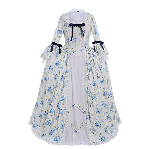 CosplayDiy Women's Rococo Ball Gown Gothic Victorian Dress Costume (XXXL, Style D) -