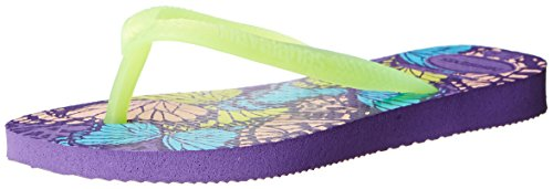 Havaianas Kids Slim Fashion Thong Sandal (Toddler/Little Kid), Dark Purple, 33 BR(3 M US Little - Sale Havaianas Kids