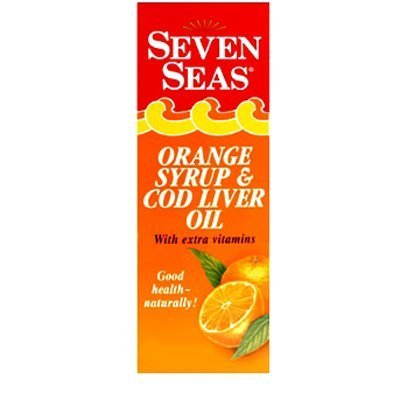 Seven Seas Simply Timeless Marine Oil with Cod Liver Oil Orange Flavour Liquid 150ml by Seven Seas