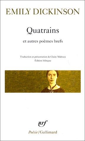 Quatrains Et Autres Poèmes Brefs Nrf Poésie Amazones