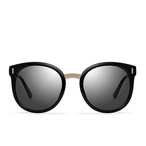 Pink Women Sunglasses Mirror Round Shades Summer Color Lens Women Retro Ladies Sun Glasses,001,50Centimeters