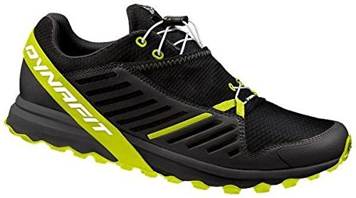 Dynafit Alpine Pro Trail Running Shoe - Men's-Black/Fluo 64028-0935-120 by Dynafit