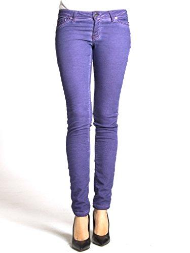 A 788 Jeans Carrera Sigaretta Per Vestibilit Donna Interno Felpato Unita Modello Jogger Tinta qO1nwU