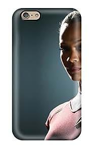 Fashionable YYOpRGx3606thGcY Iphone 6 YY-ONE For Zoe Saldana As Uhura In Star Trek Protective Case